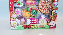 Toy Velcro Cutting Cake Pizza Ice Cream Play Doh Toy Surprise Learn Fruits English Names YouTube