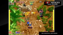 Gameplay de ACA NEOGEO SHOCK TROOPERS en Nintendo Switch
