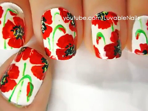 Easy nail designs for beginners to do at home – Cute Nail designs DIY nail designs tutorial(4)