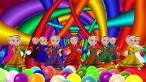 Toddler Kids Learn Teach Colors Babies Children Squish Splat Ball Squishy Slime Stress Bal