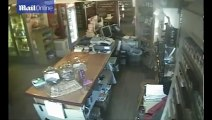 GHOST CAUGHT ON TAPE in a haunted store _ Scary ghost videos caught on tape on Paranormal Camera