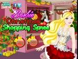 Барби Рождество поход по магазинам веселье Барби игра для Дети