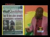 Les plus gros scandales sexuel Ameth aidara  encourage  les ACTEURS