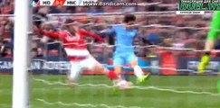 David Silva Big Miss - Middlesbrough vs Manchester City - FA Cup - 11/03/2017
