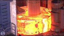 Sıcak Metallerin işleniş anı hiç merak ettiniz mi Dünyanın en zor işlerinden biri