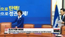 Korea's political parties enter next phase of preparing for early presidential election
