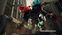 Lego Hero Factory - Evos XL-Maskin 44022 vs. Splitter Beast mot Furno och Evo 44021