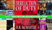 Download Dereliction of Duty: Lyndon Johnson, Robert McNamara, the Joint Chiefs of Staff, and the