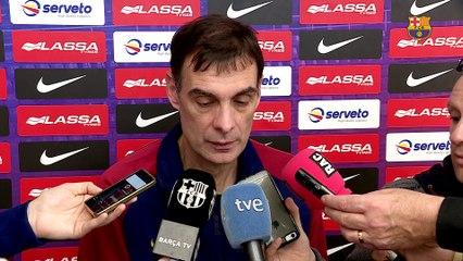"""Bartzokas: """"Necessitem sacrifici i molta paciència"""""""