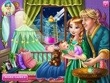 Анна замороженные ДЛЯ ФУРШЕТА игры—анна из холодное сердце макияж—онлайн видео игры детей мультфильм 201