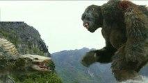 Kong:  Skull Island Clip, The King Kong Battles a Gigantic Skull-Crawler