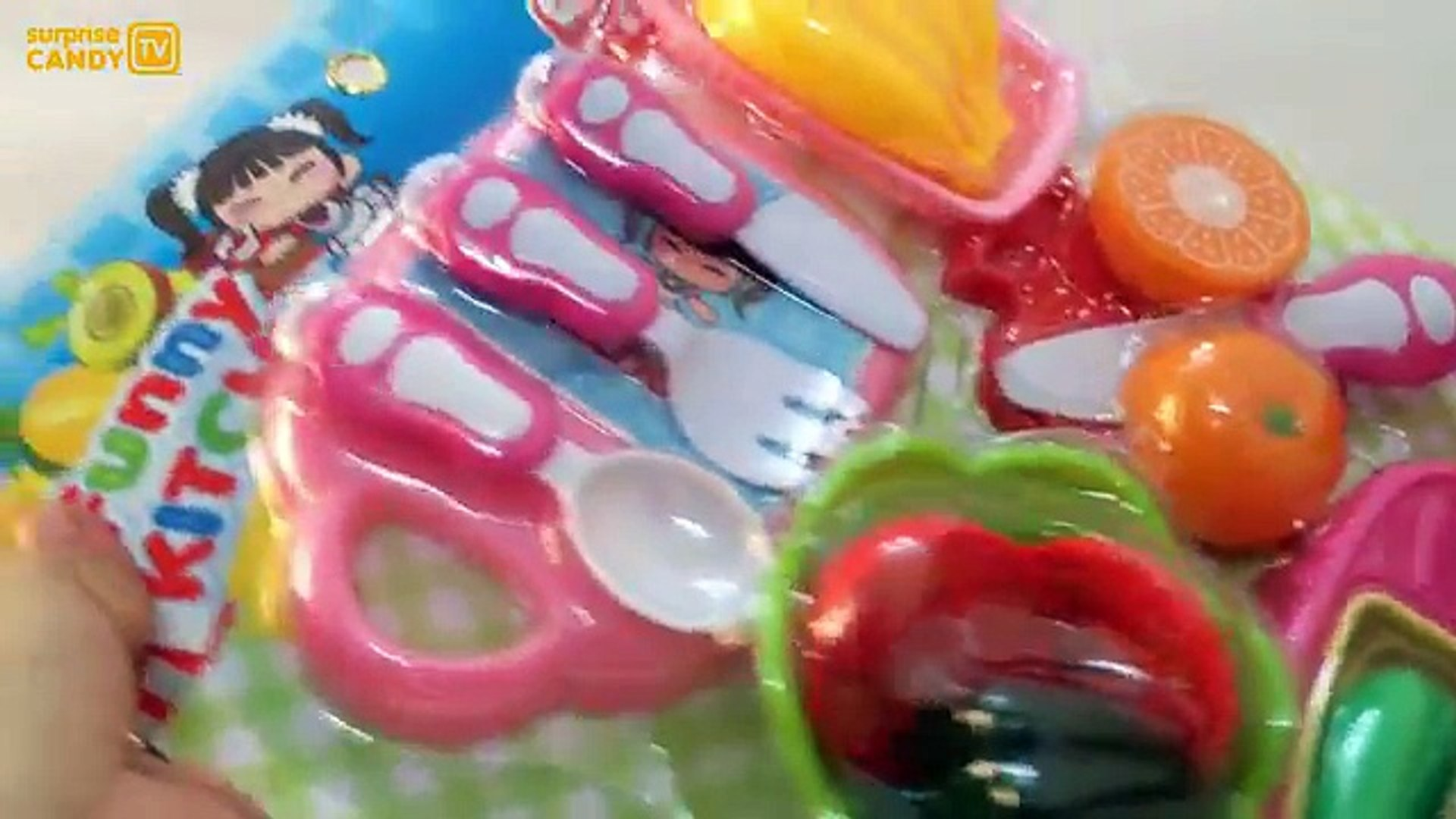 Забавные игрушки кухня липучка фрукты овощи