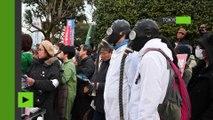 Manifestation anti-nucléaire à Tokyo à l'occasion de l'anniversaire de la catastrophe de Fukushima