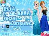 Elsa And Anna Prom Makeover - Disney Princess Frozen Games Movie