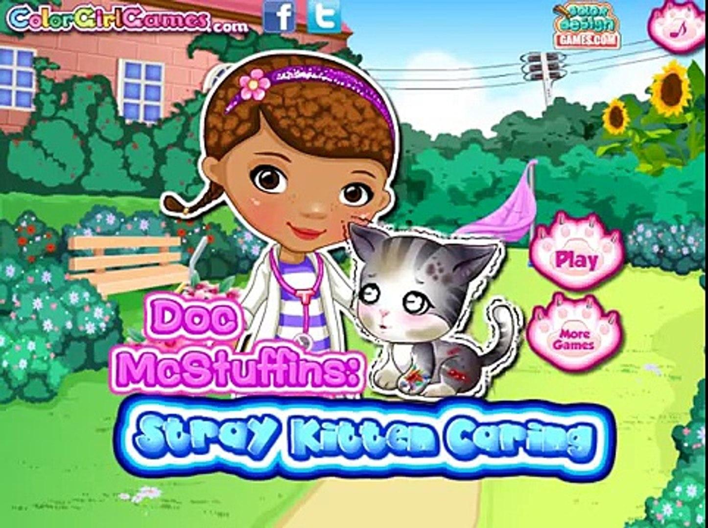 Доктор Игры Кому играть Онлайн бесплатно доктор бездомный котенок заботливая игра