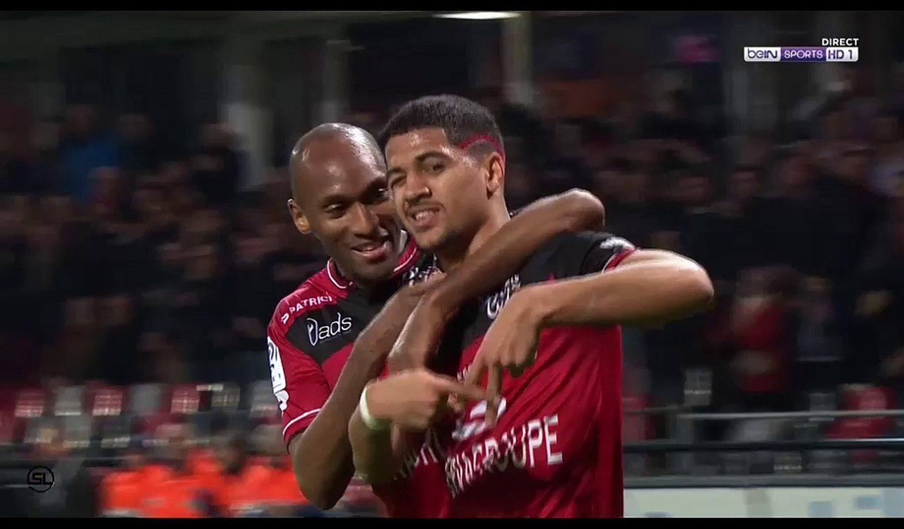 Ludovic Blas Goal HD - Guingamp 4-0 Bastia - 11.03.2017