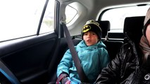 Winter Playground Family Play - Snow Slides Fun and Ice Skating-WHexJBgwDes