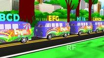ABC алфавит песни для детей | ABC песни | детские стишки | детские Темпо ABC песни в 3D