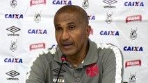 Sob pressão, Cristóvão admite que Vasco jogou mal em tropeço com Macaé