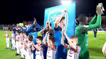 Résumé du match Niort Valenciennes avec nos U9 et U11 en Escort kids