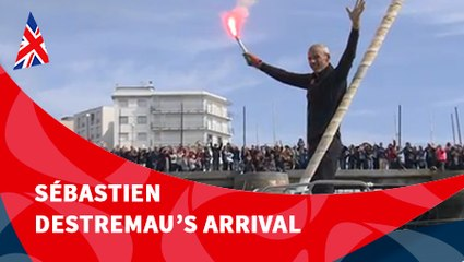 D125 : Sébastien Destremau's arrival / Vendée Globe