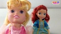 FORTUNE DAYS Ariel Doll Disney Princess Dolls Aurora Collection Toys Video For Kids