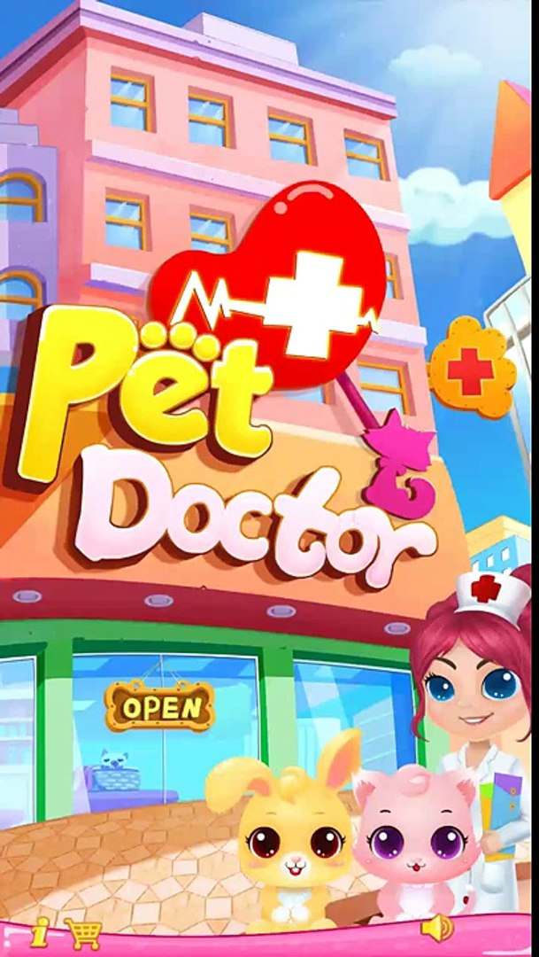 Little Pet Doctor Puppys Rescue - Kids Learn To Take Care of Pets - Libii Pet Hospital Ki