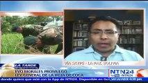 """""""El 80 % de la producción de hoja de coca termina en manos del narcotráfico"""": Franco Gamboa, analista político sobre ley promulgada en Bolivia"""