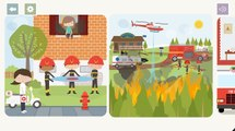 Kids Play & Have Fun with Fire Truck, Fire Boat,Fire Copter App Game For Kid By Baby Baby