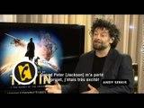 Interview Jamie Bell 2 - Les Aventures de Tintin : Le Secret de la Licorne - (2011)