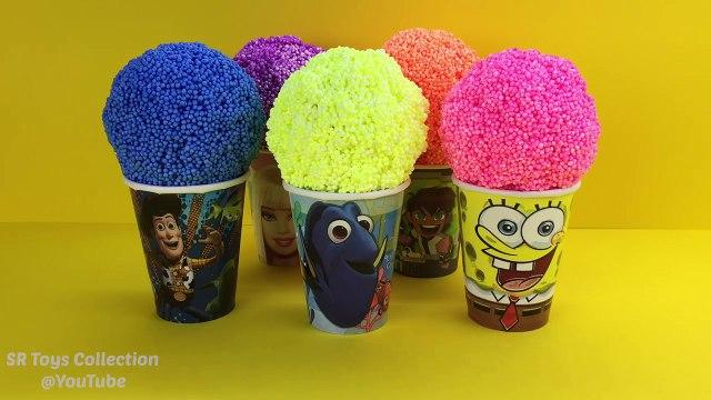 Foam Clay Surprise Toy Batman Paw Patrol Peppa Pig Shopkins Disney Tsum Tsum Minnie Mouse