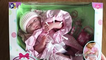 Real looking La Newborn Baby dolls - Baby Dolls Bottle Feeding Rocking Cradle Sleeping Pram Walking (1)
