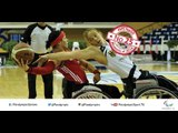 25. Canadian women's wheelchair basketball team beat Paralympic champions Germany