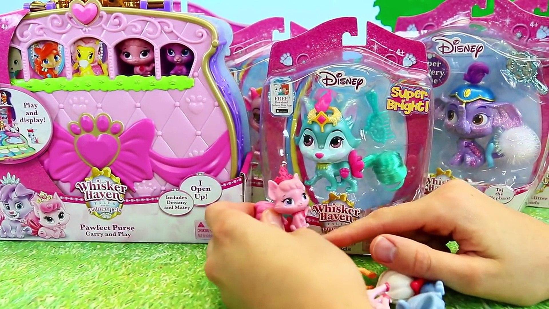 Toy Hospital PALACE PETS Sick Visit Pet Vet Doctor Barbie & New Home Disney Princess Pet C