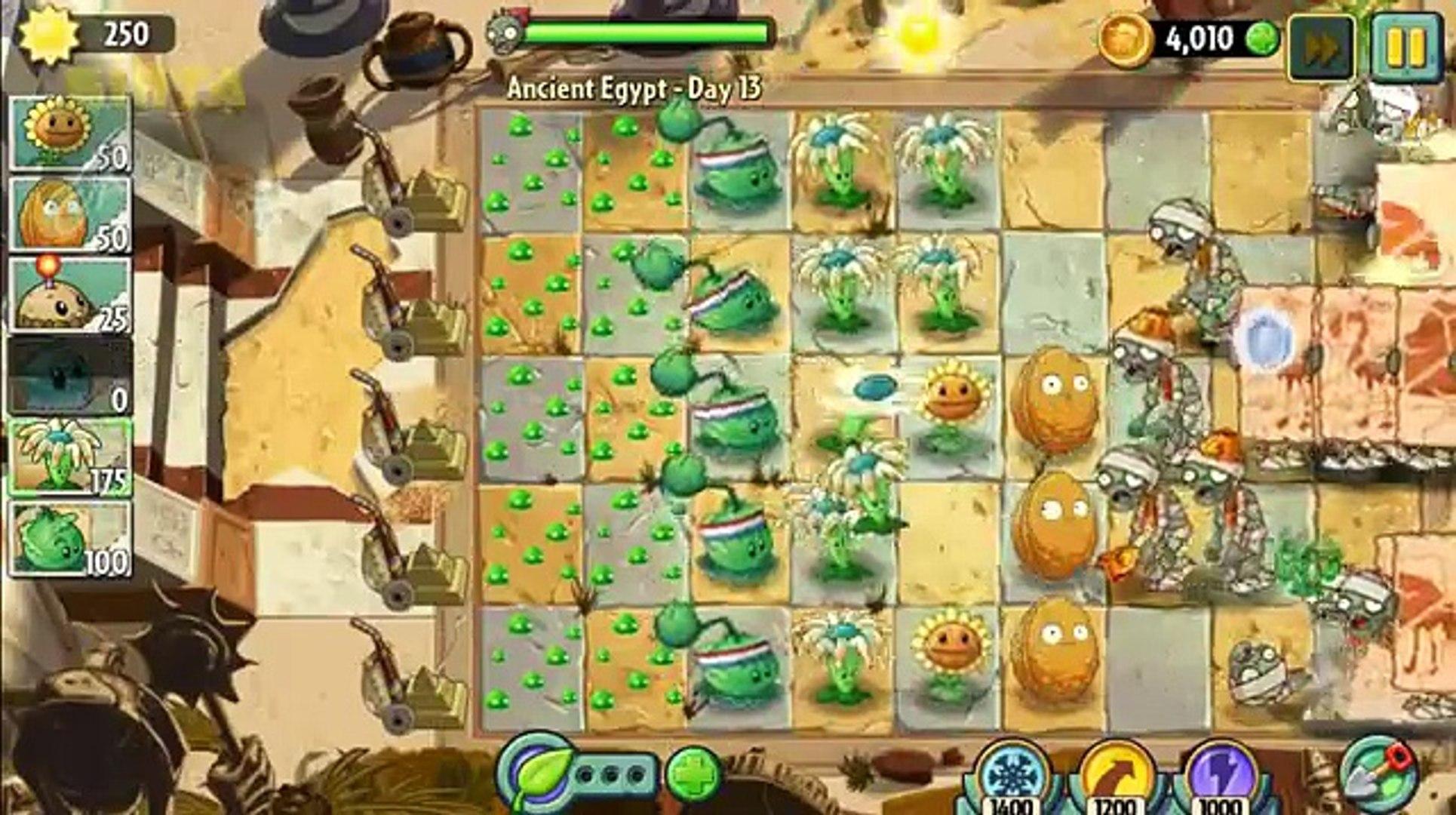 2. древние день Египет растения против прохождение зомби 15