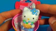 Big Purple Egg Surprises Golden Kinder Surprise Egg Toys HELLO KITTY DOLL HOUSE PLAYSET Fr