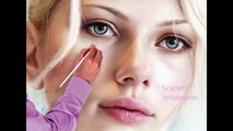 Scarlett Johansson - Amazing Speed Painting   Beautiful Girls HD - playdoh icecream