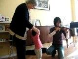 violon chez mamie