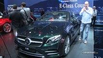 Mercedes Classe E coupé - En direct du salon de Genève 2017