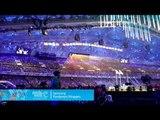 Marie Bochet: Closing ceremony at  the Fisht Olympic Stadium
