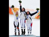 Women's giant slalom standing Victory Ceremony | Alpine skiing | Sochi 2014 Paralympic Winter Games