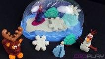 Pâte à modeler Play Doh Reine des neiges Frozen Boule à neige scintillante ♥ Sparkle snow