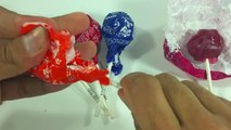 Yummy Tootsie Lollipops Party in My Tummy / Learn the colors with Tootsie Roll