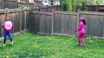 Джокер против розовый Девушка-паук против зло вес человек-паук зло пузырь Веселая