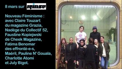Sur Rinse : Les nouveaux féminismes