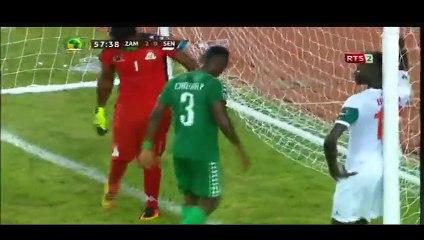 """Scène insolite à la CAN U20 : Ibrahima Ndiaye jette un """"khon"""" dans les buts de la Zambie"""