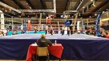 Finale Championnat de France 2017 Classe B FFKMDA 60 kgs / Lucien Descamps (Muay Thai Vendinois) Vs Thomas Guilleau (SMOC Boxes-Loiret)