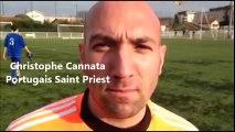 ASJ Portugais de Saint Priest - FC Franchevillois