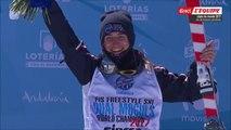 ChM 2017 freestyle et snowboard à Sierra Nevada, ski de bosses en parallèle F, 09 mars 2017, Perrine Laffont championne du monde
