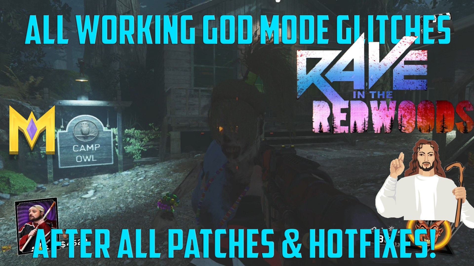 Rave In The Redwoods Glitches - All WORKING God Mode Glitches AFTER Patch 1.10